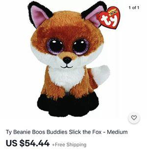 Toy. TY fox. Big fox. for Sale in McClellan Park, CA