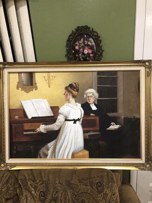 Antique oil painting. for Sale in Miami, FL