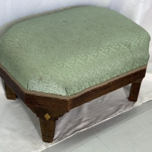 Vintage Wood Inlay Ottoman for Sale in Shoreline, WA