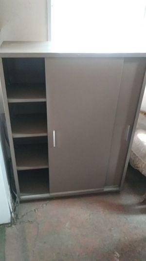 Hon. 3 shelf double sliding door metal cabinet for Sale in Hayward, CA