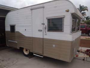 1958 fire ball camper travel trailer time capsule for Sale in San Diego, CA