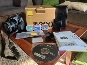 Nikon D300 w/ 2 Lenses for Sale in Costa Mesa, CA