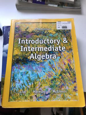 Introductory and intermediate algebra fifth edition for Sale in Los Angeles, CA