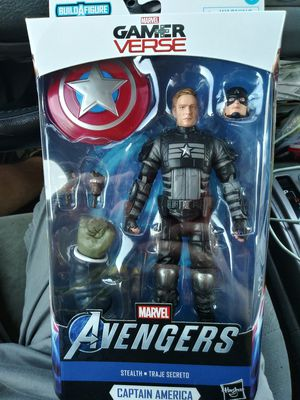 Marvel Legends Gamerverse Stealth Captain America Joe Fixit for Sale in New Caney, TX