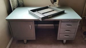 FREE DESK - VERY HEAVY and Sturdy Desk for Sale in Portland, OR