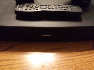Bose solo tv home surround sound with extra speakers for Sale in Murfreesboro, TN