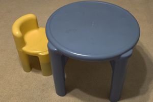Kids table and chair for Sale in Redmond, WA