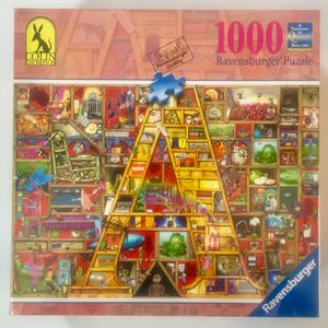 Ravensburger 1000 piece puzzle (no. 82 462 5) for Sale in Portland, OR