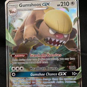 Pokemon Card Gumshoos GX 110/149 Sun & Moon Ultra Rare Holo MINT for Sale in Waxhaw, NC