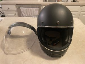 Motorcycle Helmet W/ Face Shield (Large) for Sale in Columbus, OH