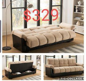 Futon sofa sleeper new in the box for Sale in Huntington Park, CA