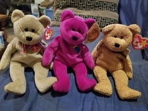 Ty beanie baby bears Retired for Sale in Plant City, FL