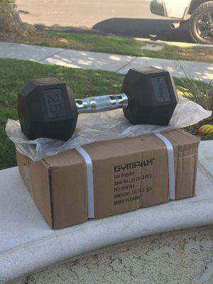 20 pound dumbbells for Sale in Murrieta, CA