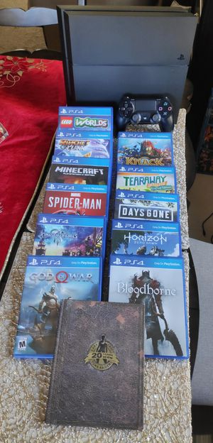 Playstation 4 games, mostly exclusive for Sale in Indio, CA