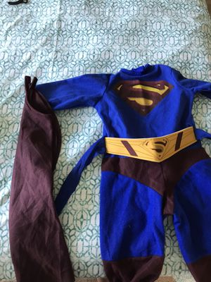 Superman costume for 1 year old for Sale in Cumming, GA