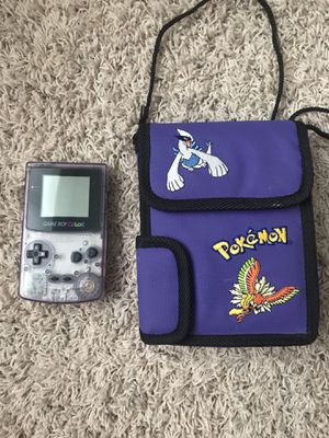 Nintendo Game Boy Color with Case for Sale in Tacoma, WA