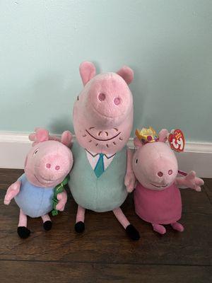 Peppa Pig stuffed animals for Sale in Long Beach, CA