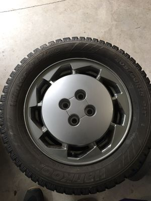 2 studded tires and wheels for Sale in Damascus, OR