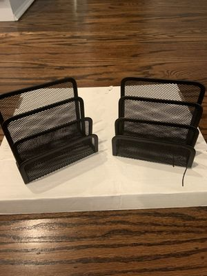 2 pack small letter holder for Sale in Santa Clara, CA