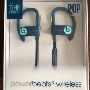 Beats by Dr. Dre Powerbeats 3 wireless pop collection for Sale in Watertown, CT
