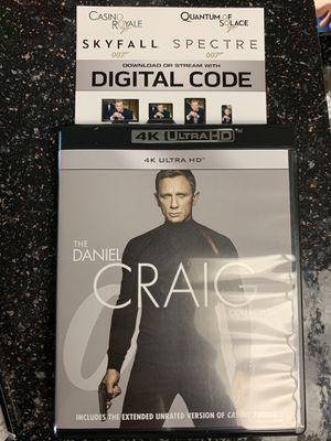 007 Daniel Craig Collection digital codes for Sale in Anaheim, CA