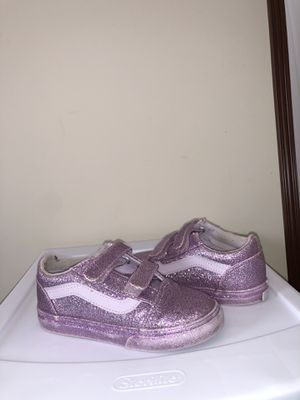 Purple glitter vans for Sale in Pinetops, NC