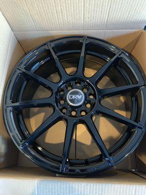 NEW 17x7 DRW BLACK RIMS for Sale in El Cajon, CA