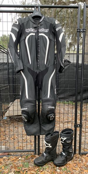 Alpinestars Stella Motorcycle Suit and Boots for Sale in Portland, OR