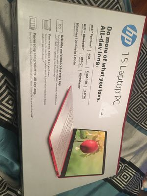 brand new hp laptop for Sale in Hyattsville, MD
