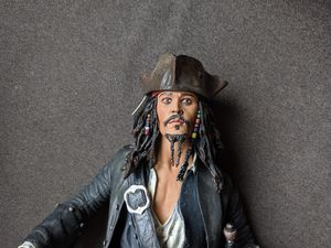 Collectable pirate's of the Caribbean Jack Sparrow Action Figure for Sale in Las Vegas, NV