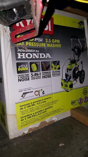 Use Pressure Washer/ needs spark plug 180$ OBO for Sale in Riverside, CA