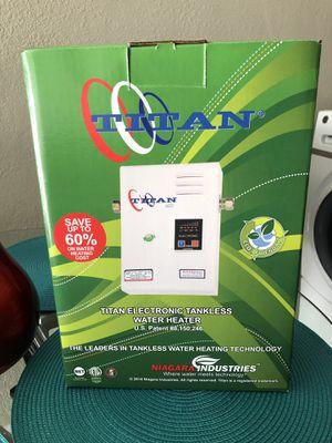TITAN WATER HEATER NEW for Sale in Miami, FL