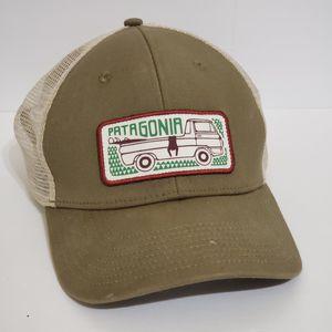 Patagonia Surf Van Caravan Mesh Trucker Hat Cap Olive Green Snapback RARE! for Sale in Brookfield, IL
