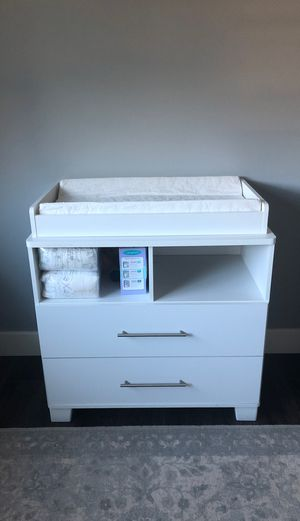 Baby changing table for Sale in Tacoma, WA