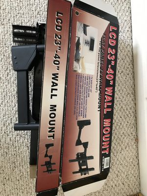 """LCD 23 """"-40"""" Wall Mount for Sale in Rockville, MD"""