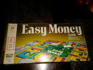"Vintage ""Easy Money"" Board Game by Milton Bradley for Sale in South Portland, ME"