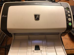 Fujitsu fi-6130z document scanner with tray. With charger With USB cable No startup disk for Sale in Federal Way, WA