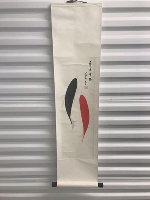 Chinese Hand Painted Scroll for Sale in Seattle, WA