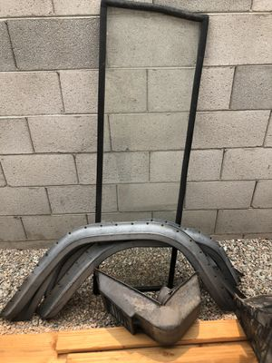 66 Bronco fender flares, core support, windshield, soft top for Sale in Phoenix, AZ