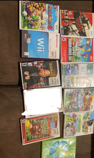 Wii games for Sale in Fontana, CA