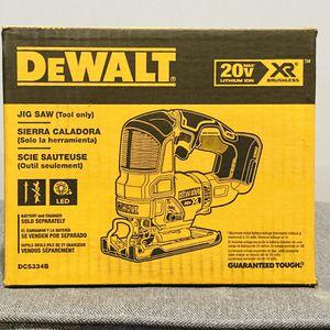 Dewalt 20v XR JigSaw (TOOL ONLY) for Sale in Philadelphia, PA
