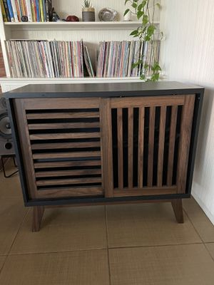 Modern Media Console with Sliding Doors for Sale in Manhattan Beach, CA