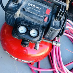 Porter Cable 6-Gallon 150 psi for Sale in Richmond, VA