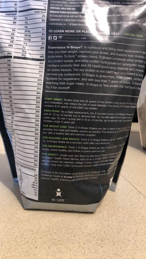 Vi Shape Nutritional Shakes