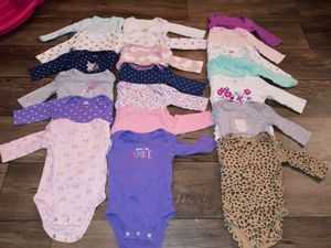 HUGE baby girl clothes lot size 3 months for Sale in Las Vegas, NV