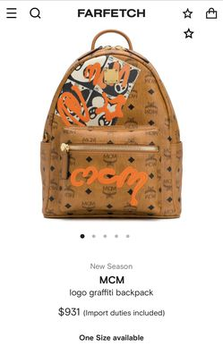 Mcm Backpack for Sale in Richmond,  VA