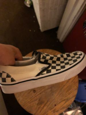 Vans size 7 women's men's size 5 for Sale in Seattle, WA
