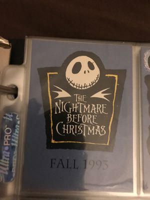The nightmare before Christmas complete card set for Sale in Orlando, FL