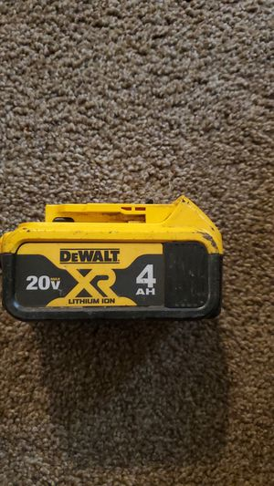 Dewalt battery for Sale in Renton, WA
