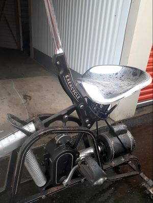Vintage EXERCYCLE Motorized Exerciser Bike Cardio Machine for Sale in Charlotte, NC